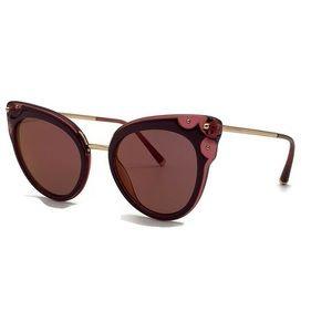 Dolce and Gabana 51mm Cat Eye Sunglasses